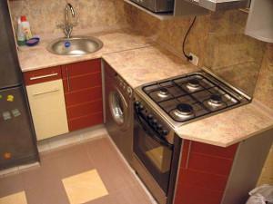 ремонт кухни в хрущевке фото своими руками