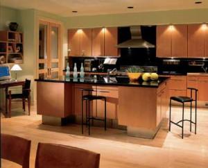 светильники на кухне фото