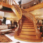 большая деревянная лестница