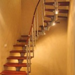 подсветка винтовой лестницы