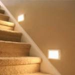 мягкая подсветка для лестницы