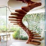 винтовая лестниц в доме фото