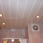Фото потолок в ванной