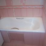 Ремонт ванной фотография