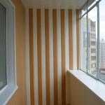 Отделка пвх панелями балкона