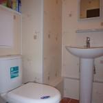 Отделка ПВХ панелями туалета