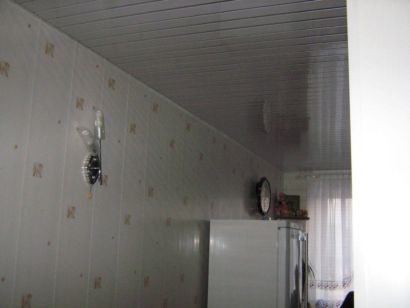 фото кухни отделка панелями