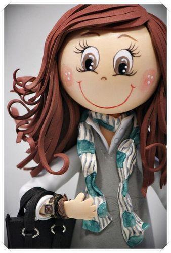 Куклы из фоамирана своими руками выкройки 849
