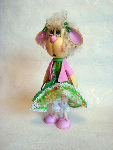 Куклы из фоамирана своими руками выкройки 508