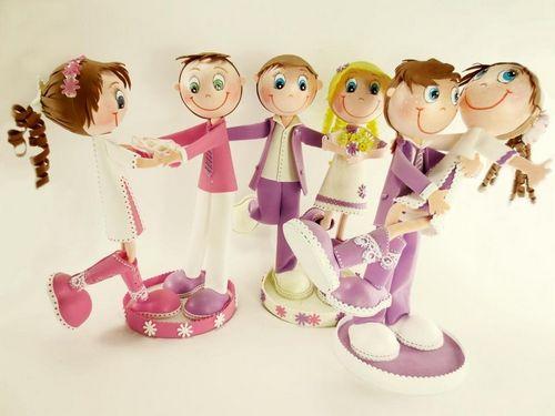 Куклы из фоамирана своими руками выкройки 34