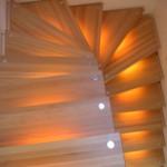 красивая подсветка для лестницы