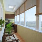Пример оформления балкона