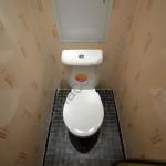 Отделка туалета пвх панелями фотография