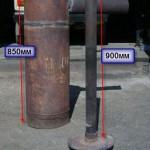 вертикальный котел труба